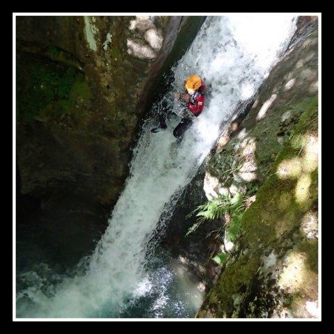 Canyoning sportif à Gavarnie