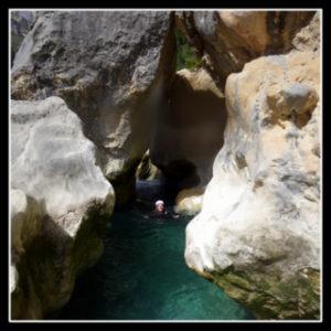 canyon dans les pyrénées espagnoles
