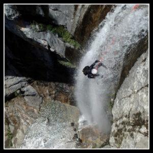 derniere cascade du canyon du consusa