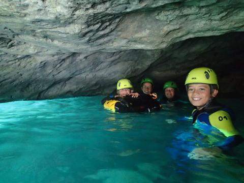 la grotte secrète du canyoning de Gavarnie