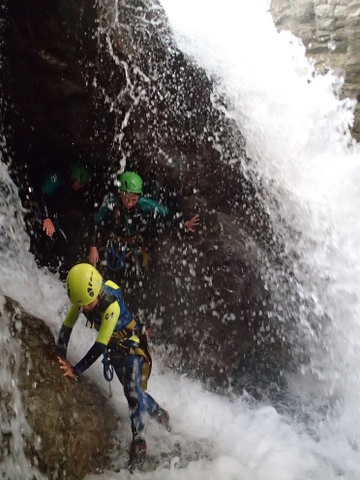grotte et cascade à Gavarnie
