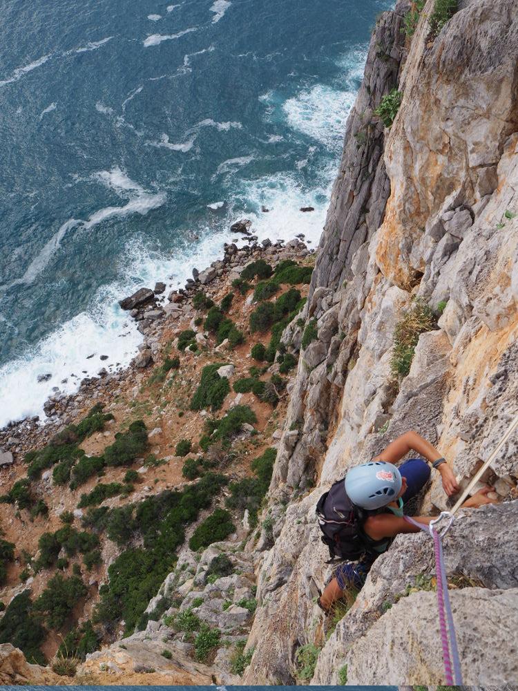escalade et canyoning en sardaigne