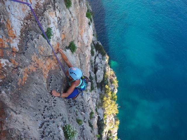 grimpe à pedra longa