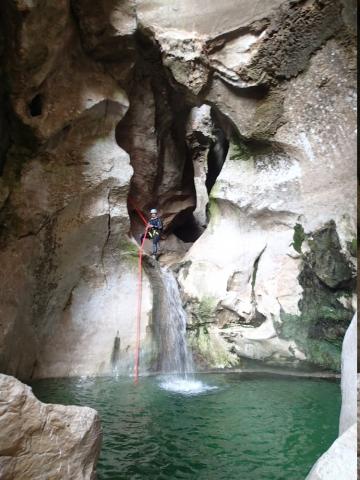 canyon en sardaigne
