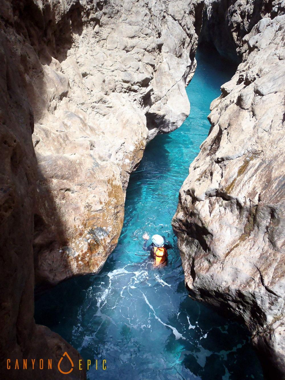 Séjour canyoning à mallorca