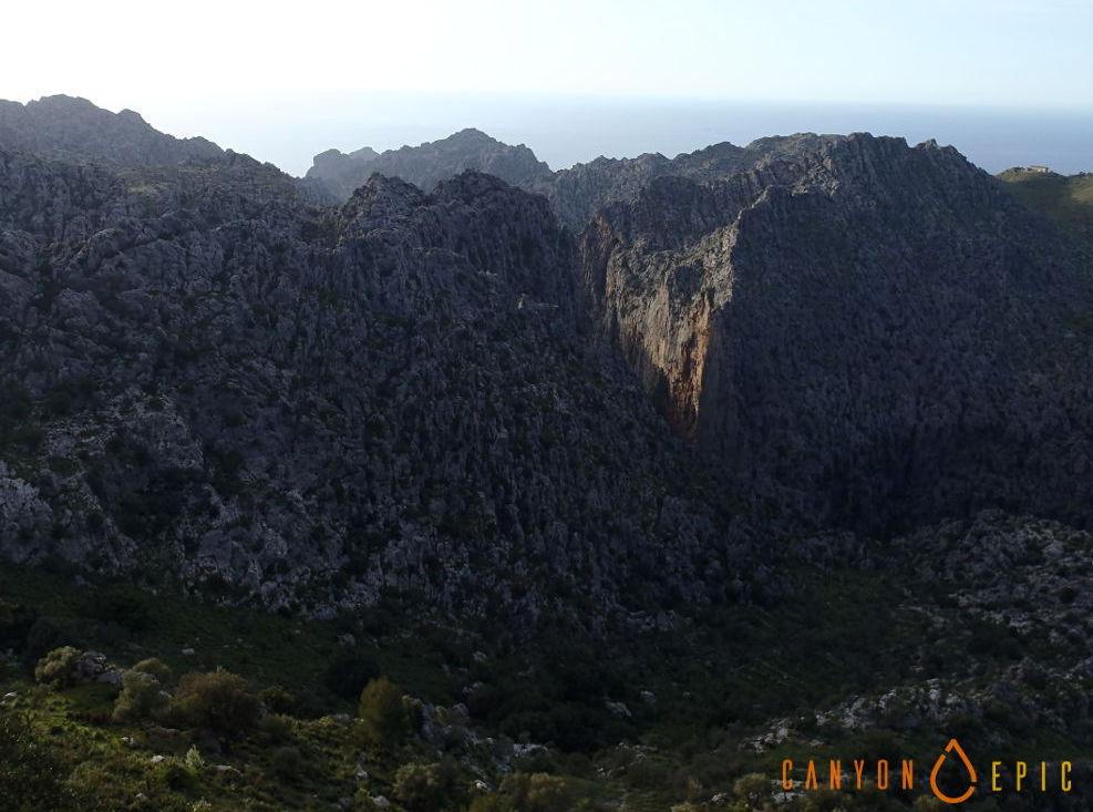 Séjour canyon à mallorca