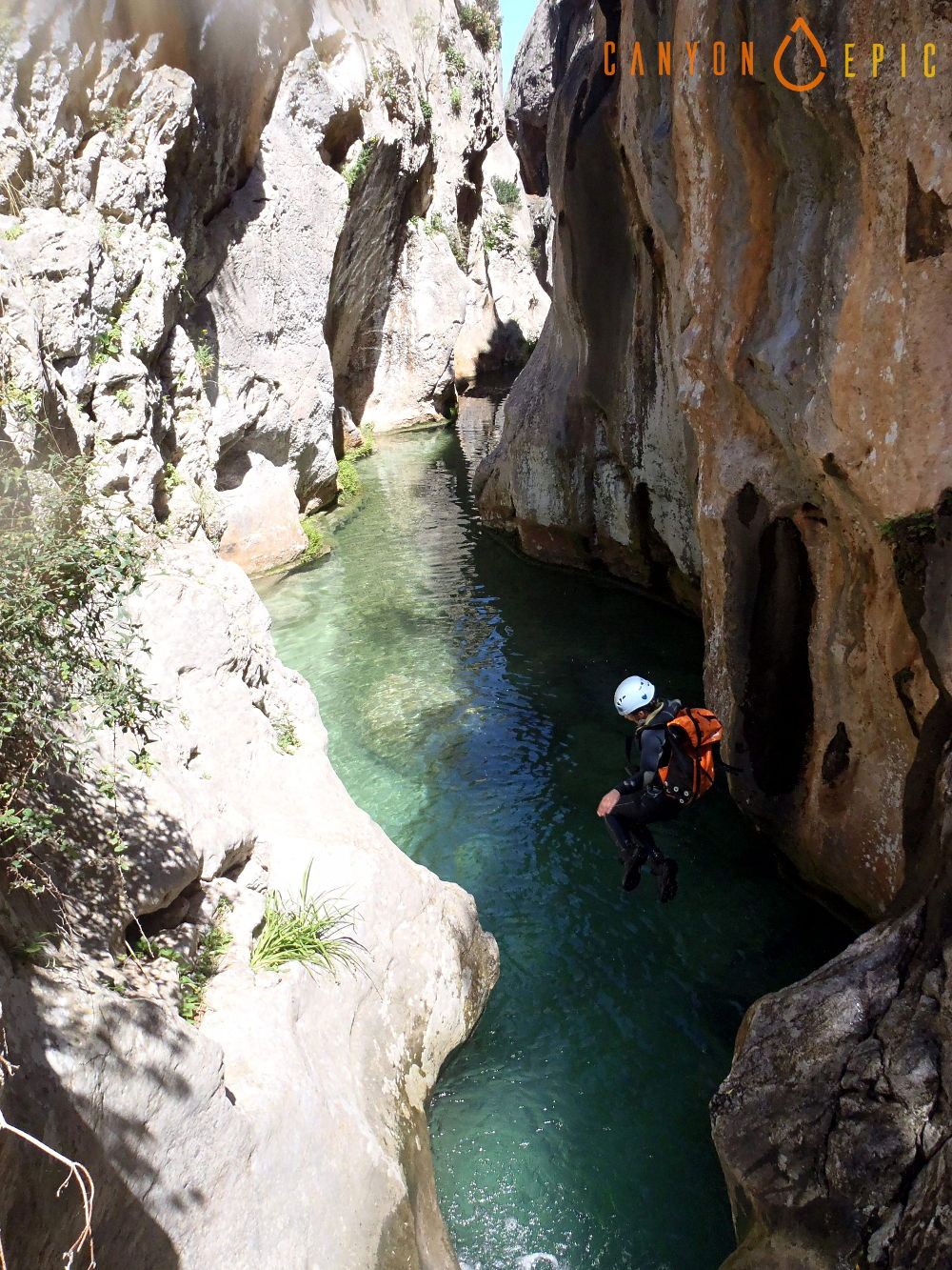 Stage canyoning à mallorca