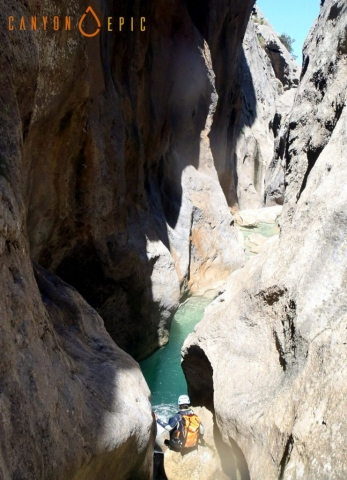 Stage canyoning dans les baleares