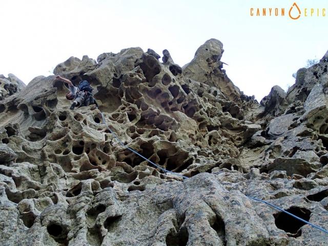 Séjour grimpe à Bavella