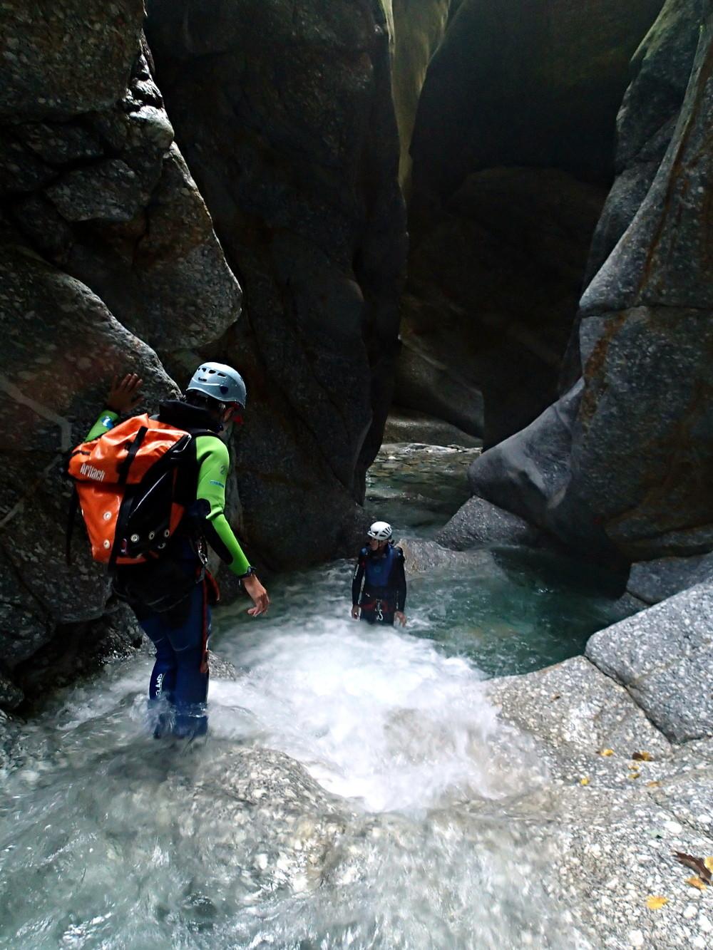 canyon de pontirone