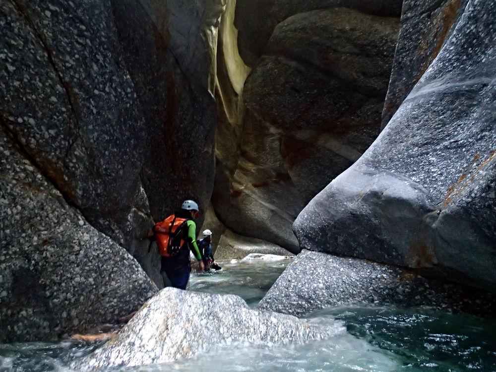 canyoning dans pontirone