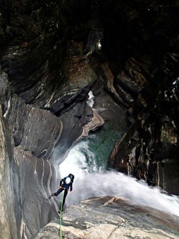 canyoning à Lodrino