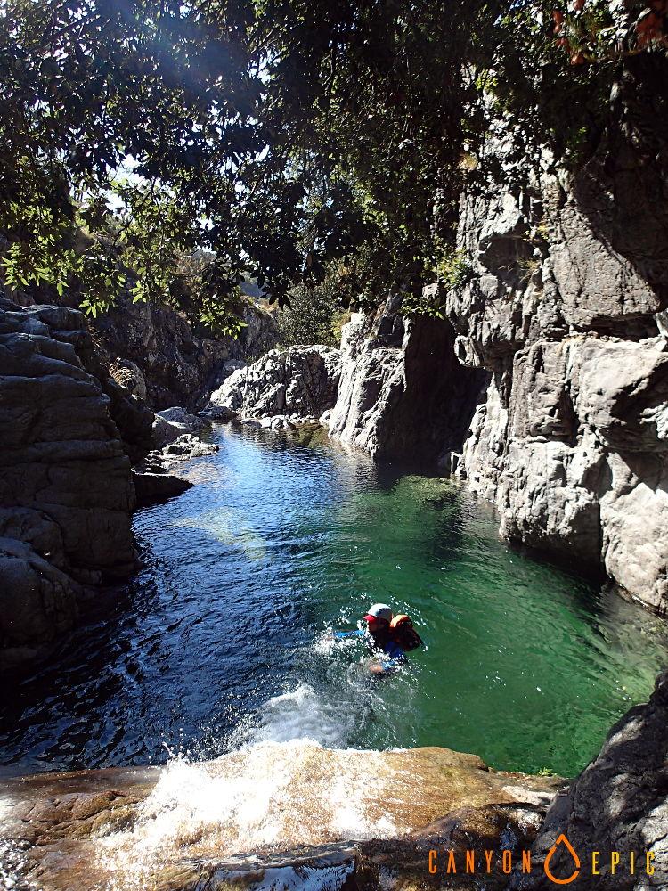 Canyoning et escalade en Corse