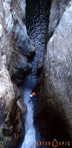 Canyon corse