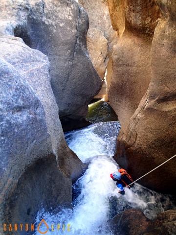 Séjour canyoning à Bavella